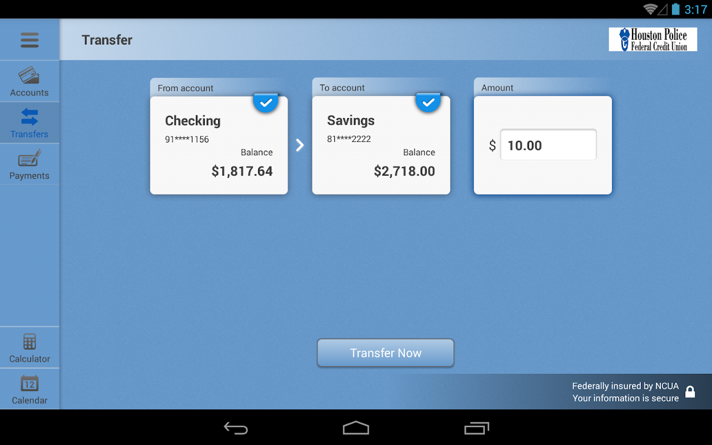 HPFCU for Tablet- screenshot