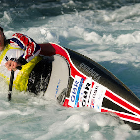 Eskimo roll by John Westwood - Sports & Fitness Watersports (  )