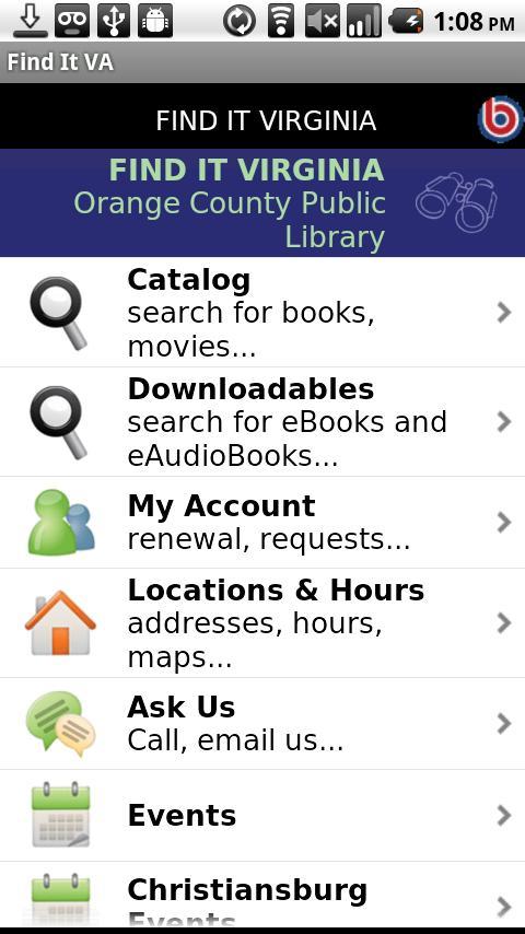 Find it VA- screenshot