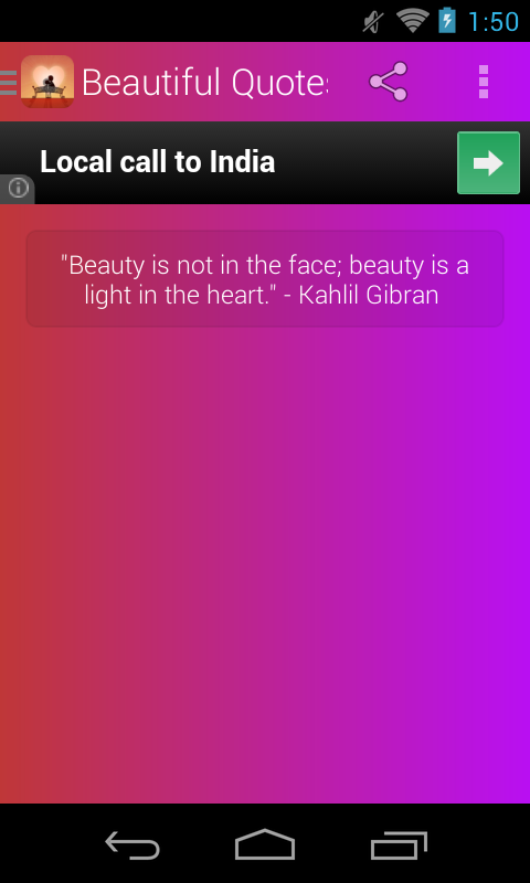 Beautiful Quotes - screenshot