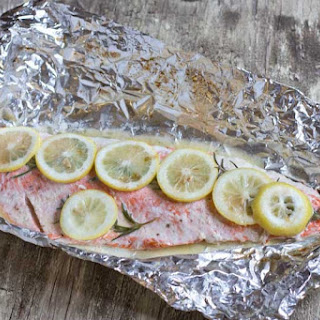 Grilled Wild Alaskan Salmon.