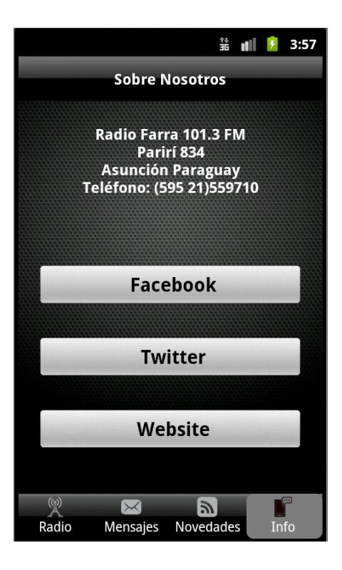Radio Farra - screenshot