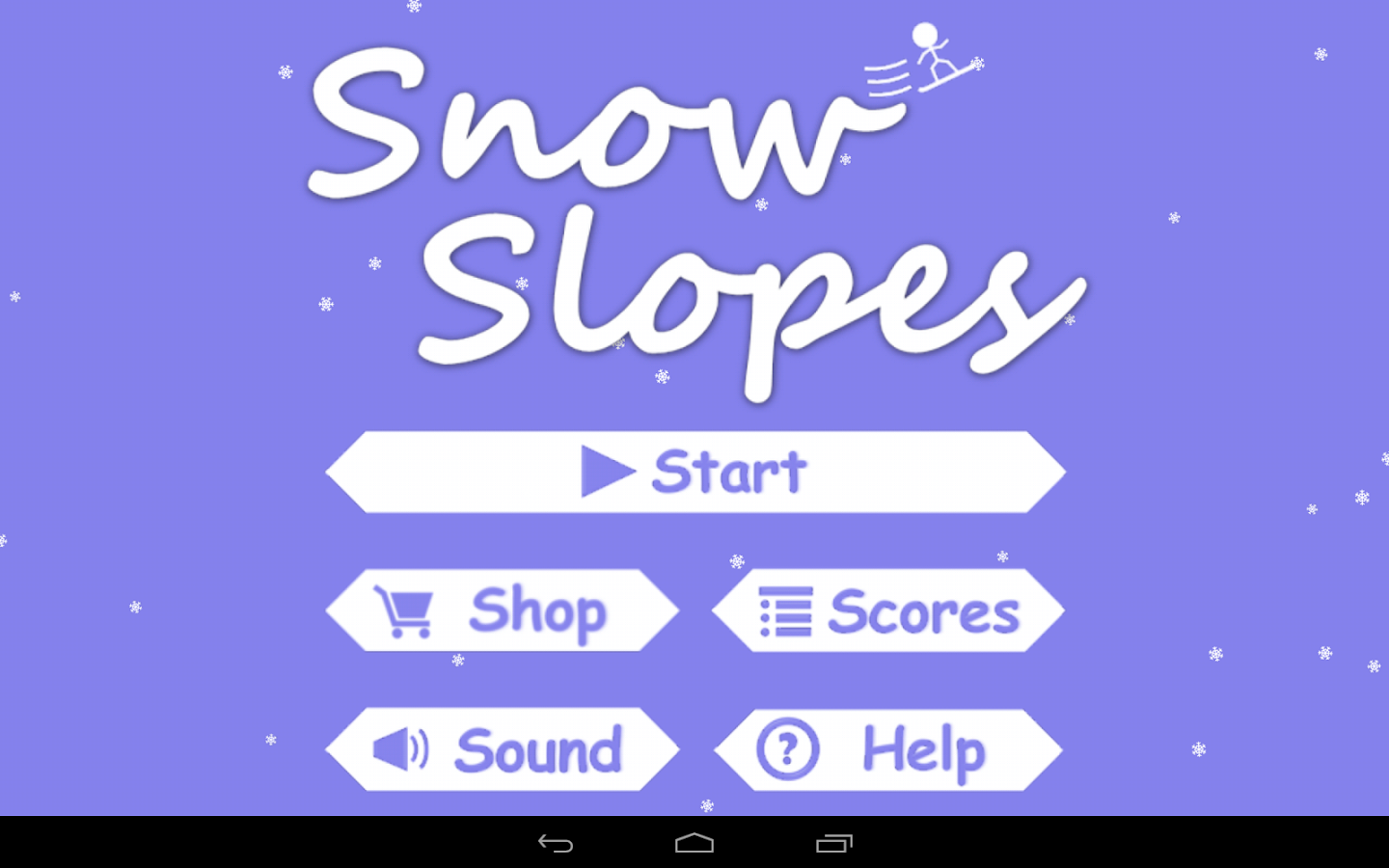 Snow Slopes - screenshot