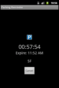 Parking Reminder- screenshot thumbnail