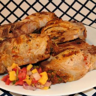 Pork on Pork Chops (Chorizo and Chipotle Stuffed Pork Chops).