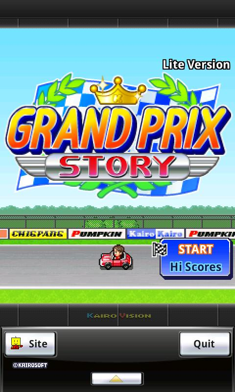 Grand Prix Story Lite - screenshot