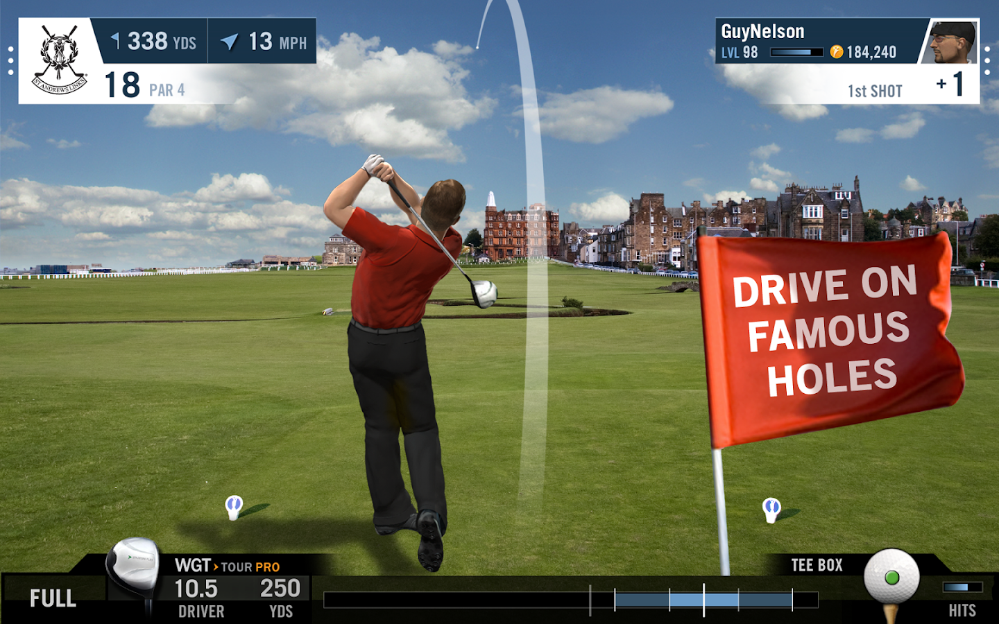 how to play wgt golf on iphone