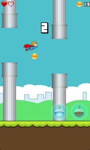 免費下載休閒APP Flappy superman app開箱文 APP開箱王