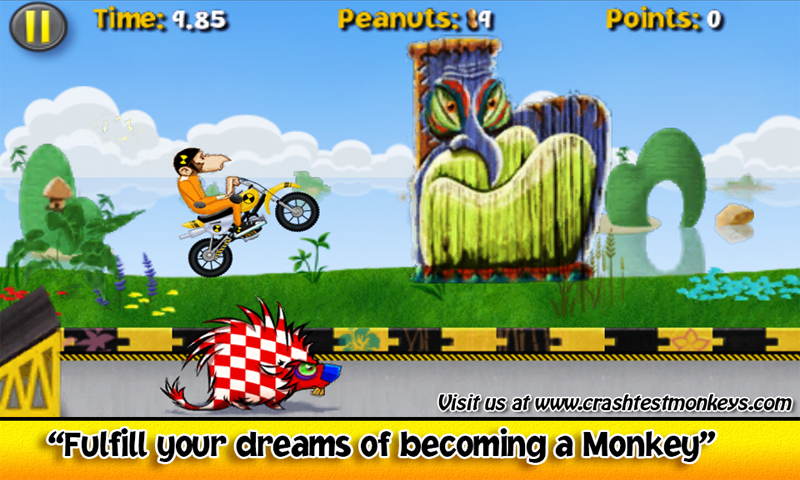 Crash Test Monkeys - screenshot