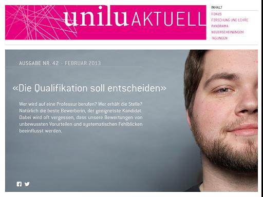 Universität Luzern eMagazine