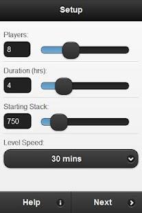 Poker Blind Manager Free- screenshot thumbnail