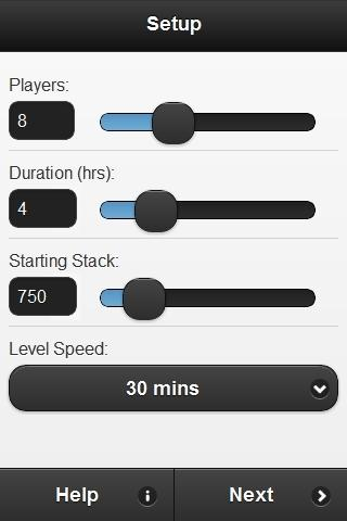 Poker Blind Manager Free- screenshot