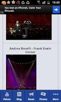 Screenshot of Andrea Bocelli