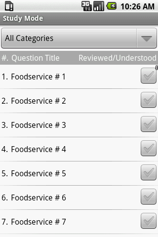 Registered Dietitian Exam Prep - screenshot