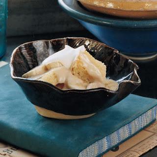 Bourbon Banana Pudding with Glazed Pecans