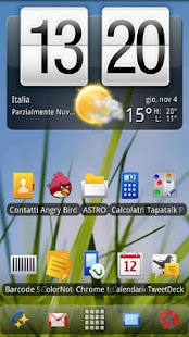Symbian Theme ADW Donate - screenshot thumbnail