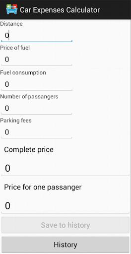 Náklady spolujízdy