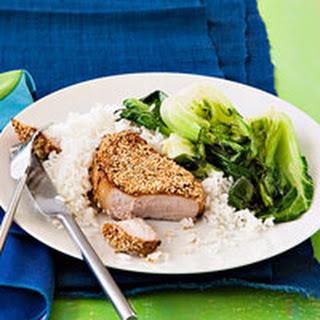 Sesame Pork Chops.