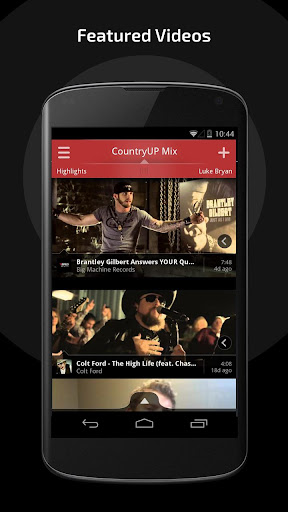 CountryUP Your Music Video App