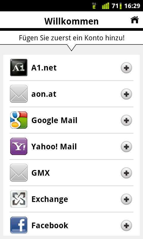 A1 Mobile Mail - screenshot