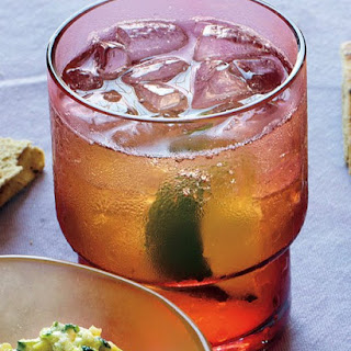 Bourbon and Ginger.