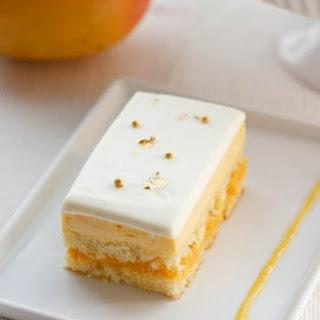 Mango Passion Fruit Cake.