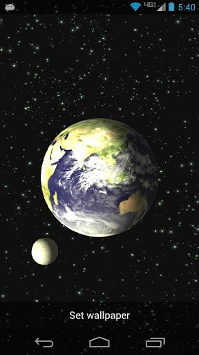 Earth Free 3D Live Wallpaper