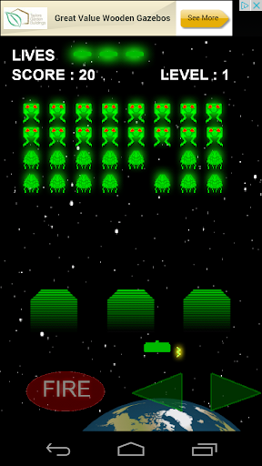Invaders - Classic Space game