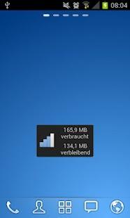 Telekom Verbrauchsanzeige- screenshot thumbnail