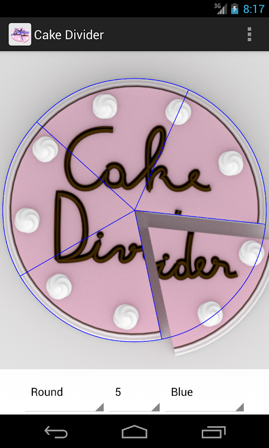 Cake Divider- screenshot