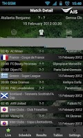 Screenshot of AIS Soccer Live