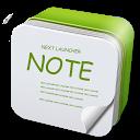 Next Launcher 3D Note Widget APK