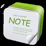 Next Launcher 3D Note Widget 1.06 Apk