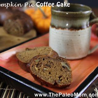 Pumpkin Pie Coffee Cake.