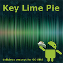 Key Lime Pie Theme for GO SMS