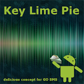 Key Lime Pie Theme for GO SMS
