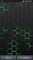 Screenshot of Honeycomb 2 LIve Wallpaper FR