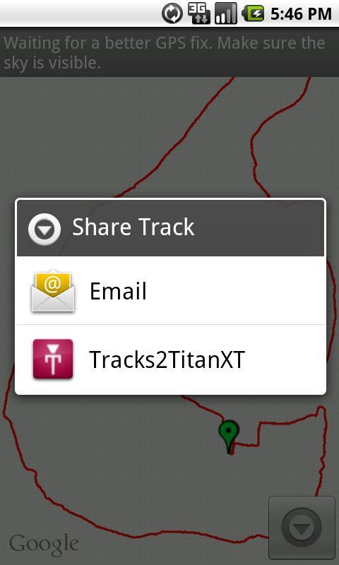 Tracks2TitanXT- screenshot