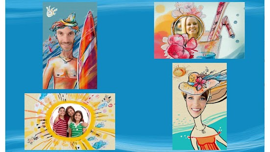 Summer Holiday Greeting Cards - screenshot thumbnail