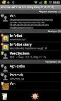 Screenshot of vCommunicator