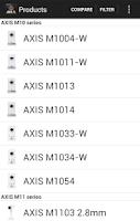 Screenshot of AXIS Guide