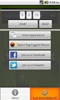 Screenshot of TinyTimer 1X1