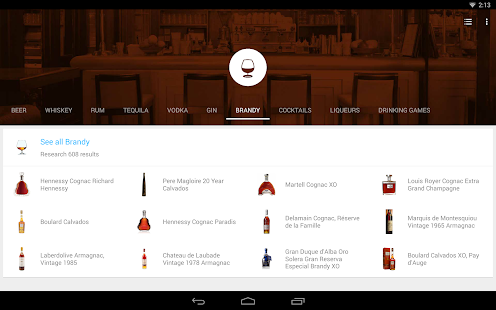 Alcohol Finder Under The Label- screenshot thumbnail