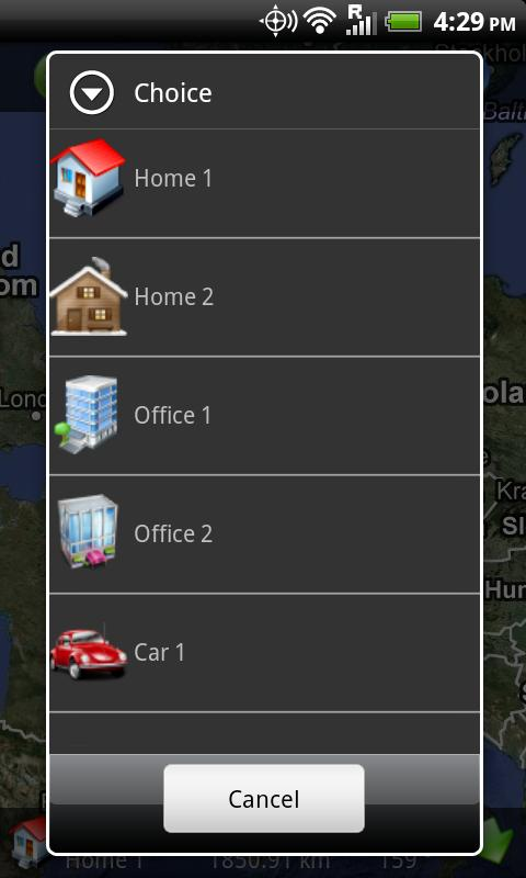 GPS Finder - Car Locator Free- screenshot