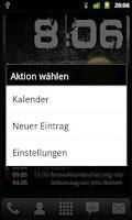 Screenshot of SimpleCalendarWidget
