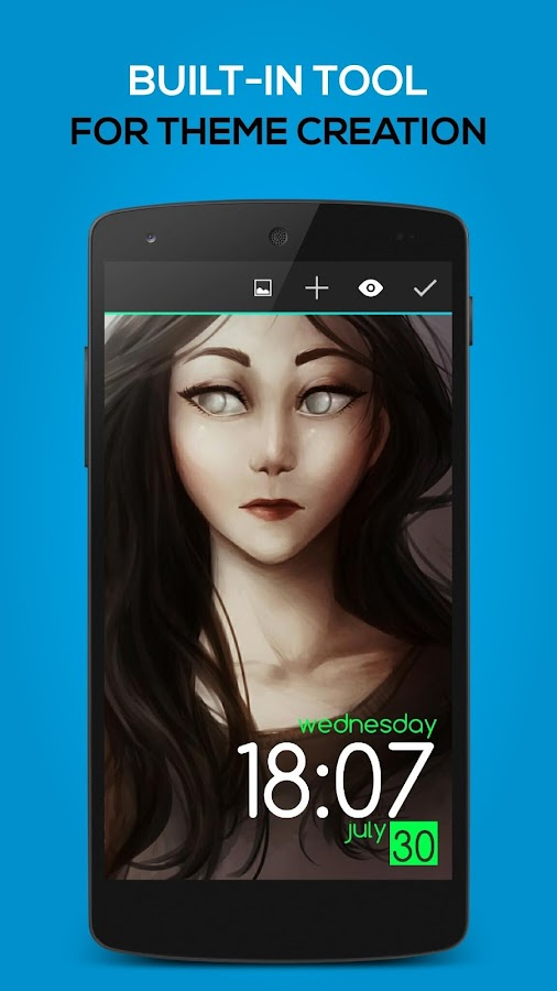 Lock Screen Club: HD Themes - screenshot