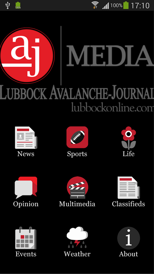 Lubbock Avalanche-Journal- screenshot