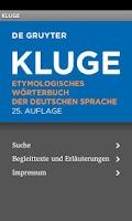 Screenshot of KLUGE