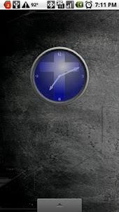 Religious Analog Clock