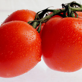 tomato by Veronika Gallova - Food & Drink Fruits & Vegetables ( #tomato, #vegetable, #red, #tomatoes,  )
